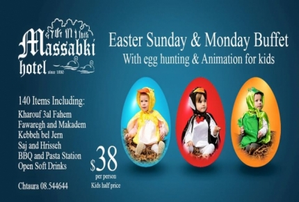 Easter & Monday buffet